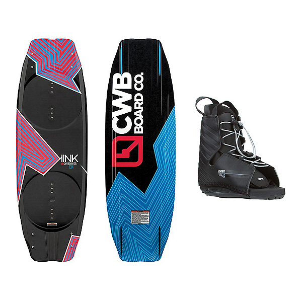 CWB Kink Wakeboard With Hyperlite Frequency Bindings, , 600