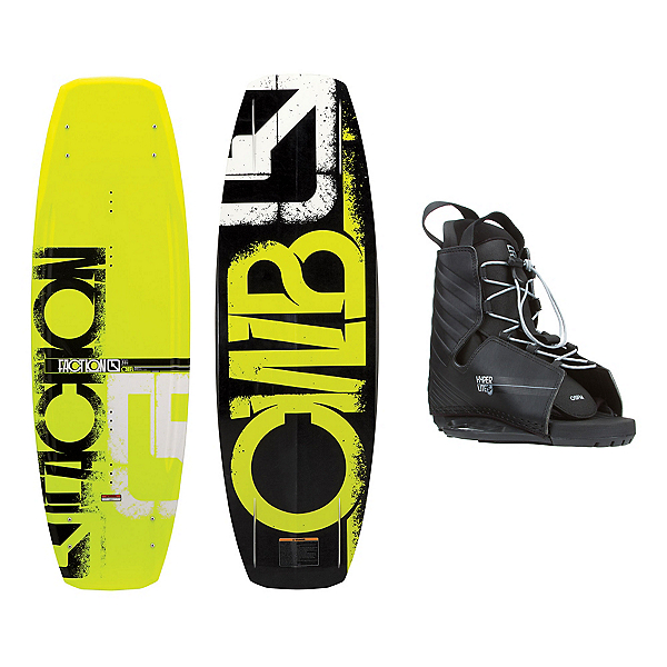 CWB Faction Wakeboard With Hyperlite Frequency Bindings, , 600