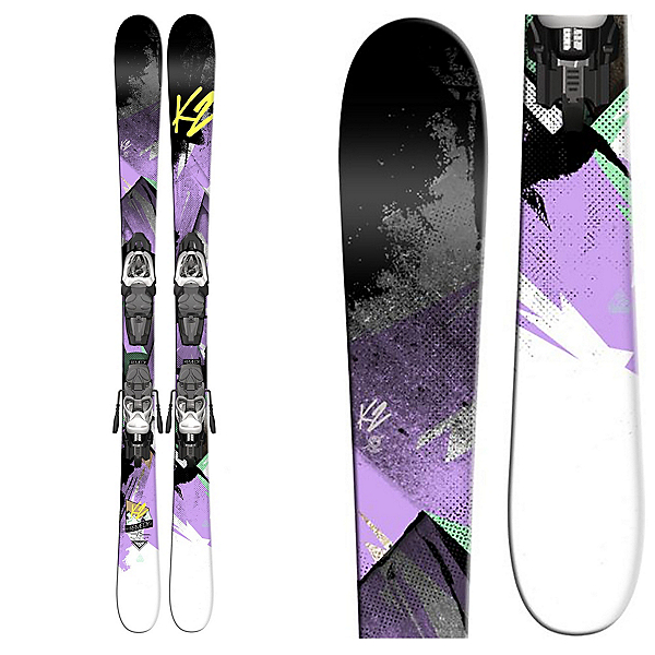 K2 Remedy 75 Jr. Kids Skis with Marker 7.0 Fastrak Bindings, , 600