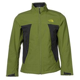 The North Face Apex Chromium Thermal Mens Soft Shell Jacket (Previous Season), Grip Green-Asphalt Grey Heathe, 256