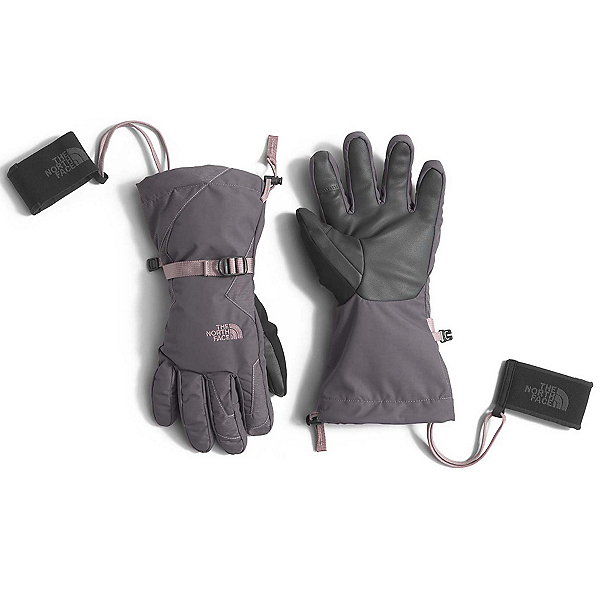 The North Face Montana ETip Womens Gloves (Previous Season), Rabbit Grey-Quail Grey, 600