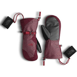 The North Face Womens Montana Mitt (Previous Season), Deep Garnet Red-Biking Red, 256