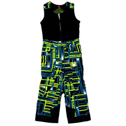Spyder Mini Expedition Toddler Boys Ski Pants, Theory Green Routed Print-Theory Green Routed Print, 256