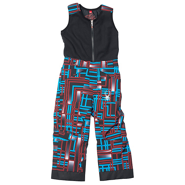 Spyder Mini Expedition Toddler Boys Ski Pants, Volcano Routed Print-Volcano R, 600