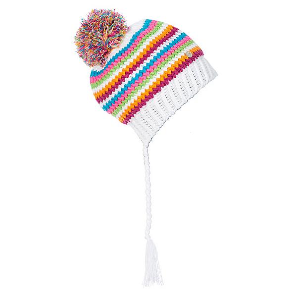 Spyder Bittersweet Kids Hat, White-Multi, 600