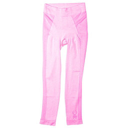 Spyder Cheer Girls Long Underwear Bottom, Bryte Bubblegum, 256