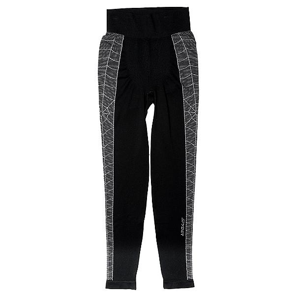 Spyder Skeleton Mens Long Underwear Pants (Previous Season), Black-White, 600