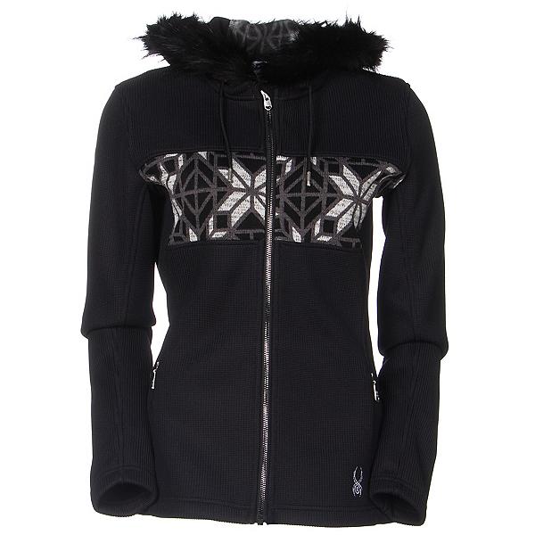 Spyder Core Soiree Faux Fur Hood Womens Sweater, , 600