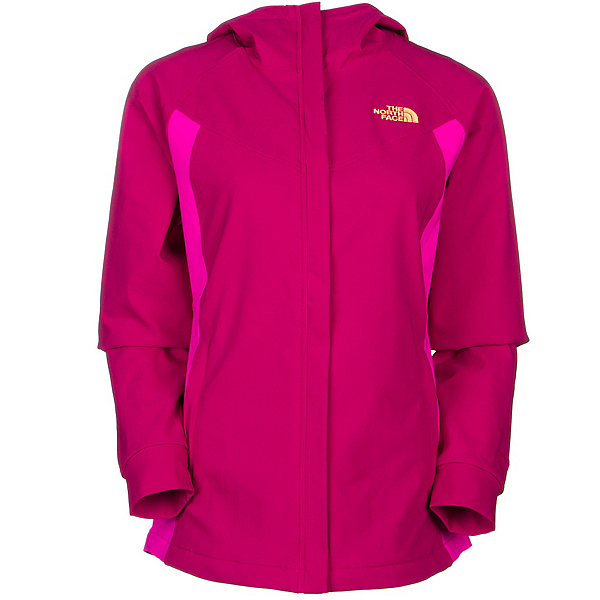 The North Face Maddie Raschel Womens Soft Shell Jacket (Previous Season), Dramatic Plum-Luminous Pink, 600