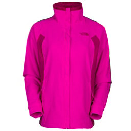 The North Face Ruby Raschel Womens Soft Shell Jacket (Previous Season), Luminous Pink-Dramatic Plum, 256