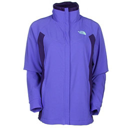 The North Face Ruby Raschel Womens Soft Shell Jacket (Previous Season), Starry Purple-Garnet Purple, 256