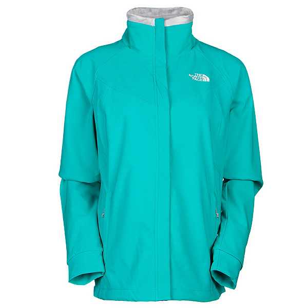 The North Face Ruby Raschel Womens Soft Shell Jacket (Previous Season), Kokomo Green-Kokomo Green, 600