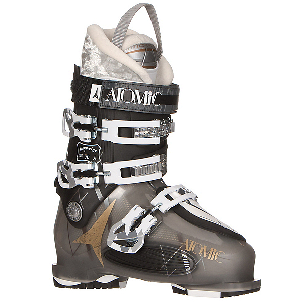 Atomic Waymaker 70 W Womens Ski Boots, Smoke-Black, 600
