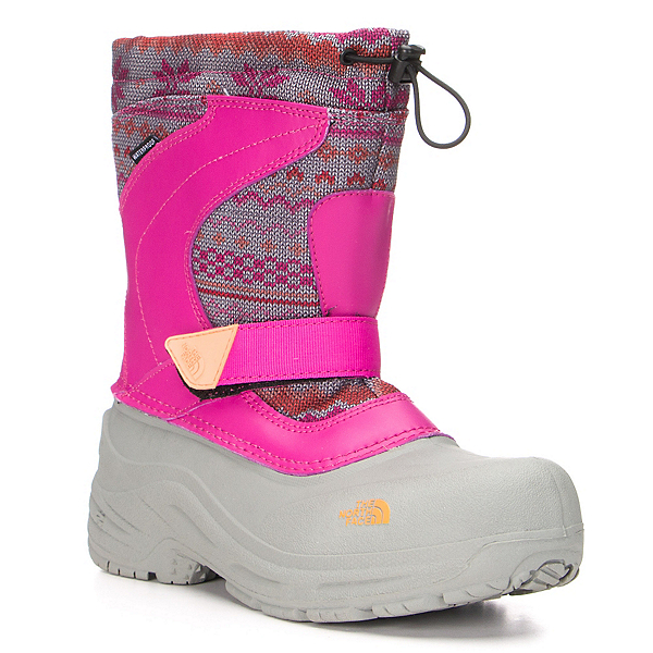 The North Face Alpenglow Pull-On Girls Boots (Previous Season), , 600
