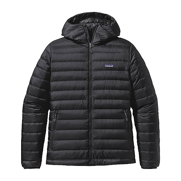 Patagonia Down Sweater Hoody Mens Jacket, Black, 600