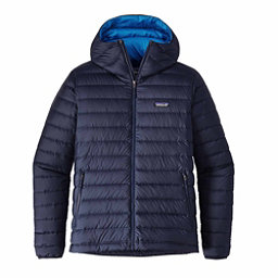 Patagonia Down Sweater Hoody Mens Jacket, Navy Blue, 256