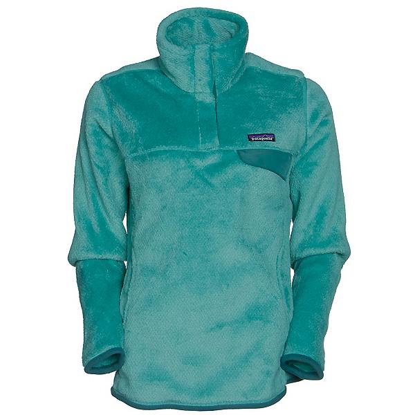 Patagonia Re-Tool Snap-T Pullover Womens Mid Layer, Aqua Stone-Beryl Green X Dye, 600