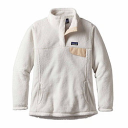 Patagonia Re-Tool Snap-T Pullover Womens Mid Layer, Raw Linen-White X Dye, 256