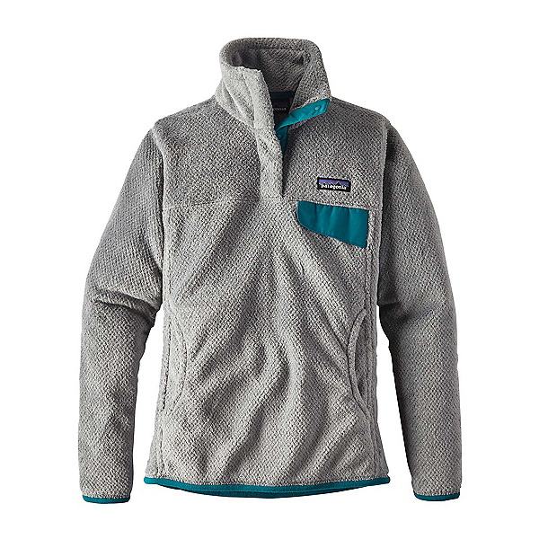 Patagonia Re-Tool Snap-T Pullover Womens Mid Layer, Tailored Grey-Nickel X Dye, 600