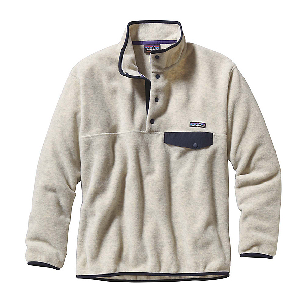 Patagonia Synchilla Snap-T Mens Mid Layer, Oatmeal Heather, 600