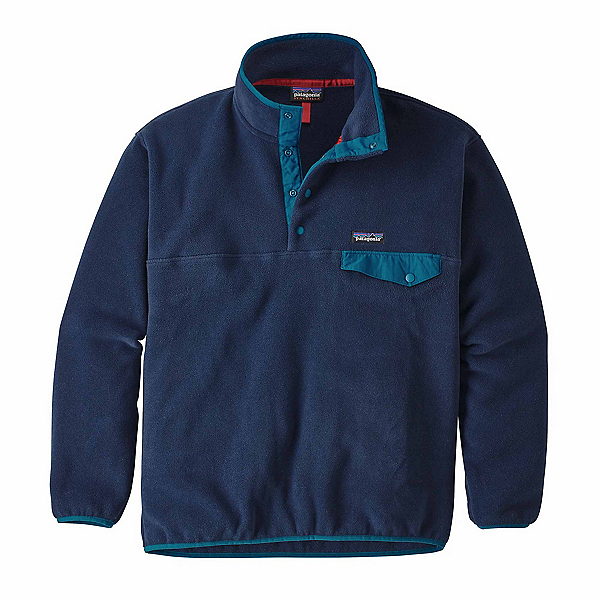 Patagonia Synchilla Snap-T Mens Mid Layer, Navy Blue, 600