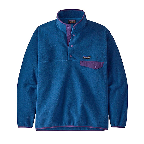 Patagonia Synchilla Snap-T Mens Mid Layer 2022, Superior Blue, 600