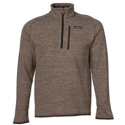 Patagonia Better Sweater 1/4 Zip Mens Mid Layer, Pale Khaki, 256