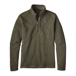 Patagonia Better Sweater 1/4 Zip Mens Mid Layer, Industrial Green, 256