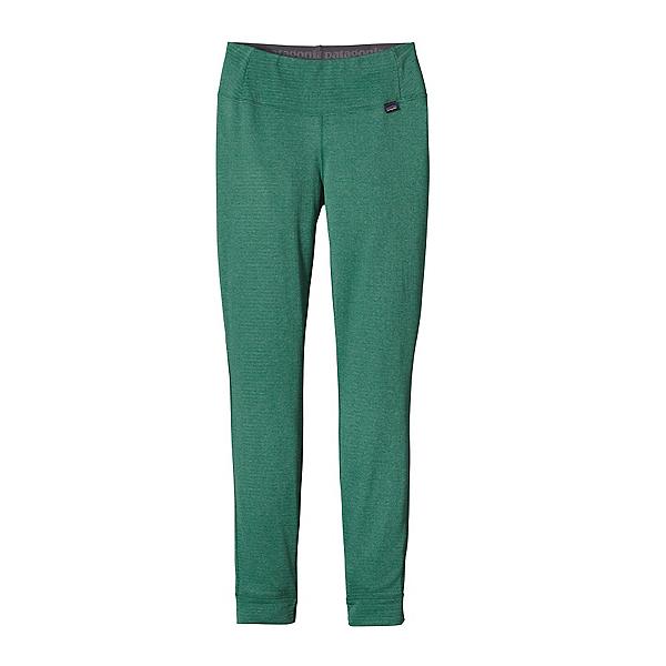 Patagonia Capilene Thermal Womens Long Underwear Pants, Arbor Green-Aqua Stone X Dye, 600
