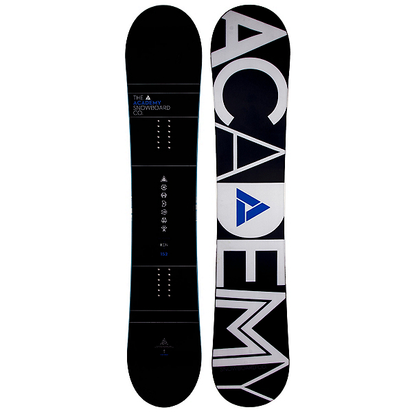 Academy Snowboards Icon Blue Snowboard, , 600