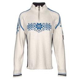 Dale Of Norway Holmenkollen Feminine Womens Sweater, Off White-Navy-Cobalt, 256