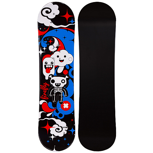 Firefly Explicit Girls Snowboard (Black), , 600