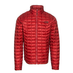 The North Face ThermoBall Full Zip Mens Jacket (Previous Season), Cardinal Red, 256