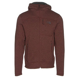 The North Face Gordon Lyons Mens Hoodie (Previous Season), Sequoia Red Heather-Asphalt Gr, 256