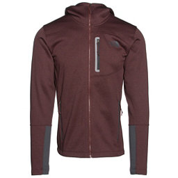 The North Face Canyonlands Full Zip Hoodie (Previous Season), Sequoia Red Heather-Asphalt Gr, 256