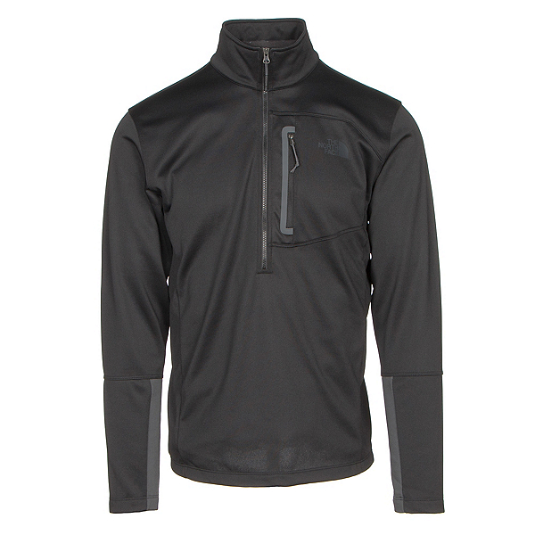The North Face Canyonlands Half Zip Mens Mid Layer (Previous Season), TNF Black, 600