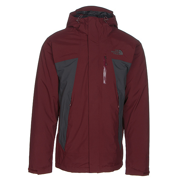 The North Face Plasma ThermoBall Mens Insulated Ski Jacket (Previous Season), Sequoia Red-Asphalt Grey, 600