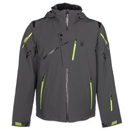 Spyder Monterosa Mens Insulated Ski Jacket, Polar-Theory Green-Bryte Yello, 256