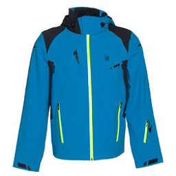 Spyder Bromont Mens Insulated Ski Jacket, Electric Blue-Black-Bryte Yell, 256