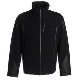 Spyder Heir Mens Insulated Ski Jacket, Black-Black-Black, 256