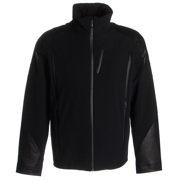 Spyder Heir Mens Insulated Ski Jacket (Previous Season), Black-Black-Black, 600