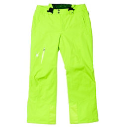 Spyder Dare Tailored Long Mens Ski Pants, Theory Green, 256