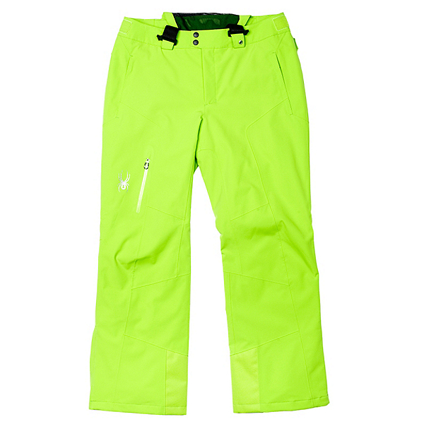 Spyder Dare Tailored Long Mens Ski Pants, Theory Green, 600