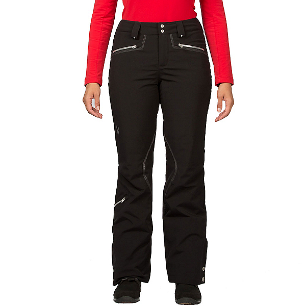 Spyder Me Tailored Fit Womens Ski Pants, Black, 600