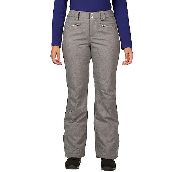 Spyder Me Tailored Fit Womens Ski Pants, Graystone Tech Flannel, 600