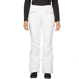Spyder Me Tailored Fit Womens Ski Pants, White, 256