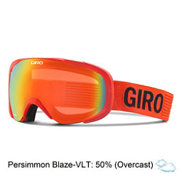 Giro Compass Goggles, Glowing Red Monotome-Persimmon, 256