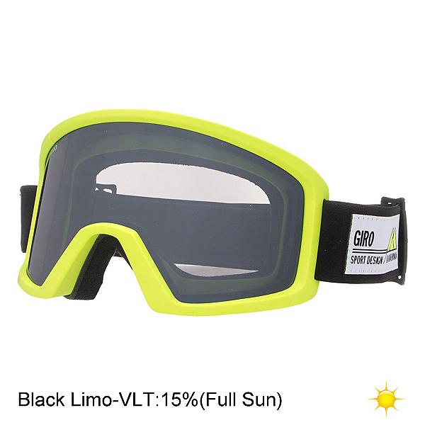 Giro Blok Goggles, Highlight Yellow Frame Pop-Black Limo, 600