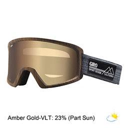 Giro Blok Goggles, Woodgrain Guitar-Amber Gold, 256