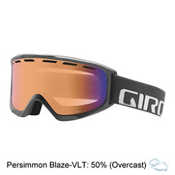 Giro Index OTG Goggles, Titanium Wordmark-Persimmon Bo, 256